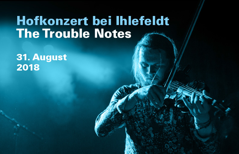 Konzert 2018 The Trouble Notes